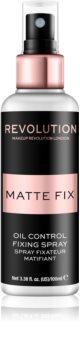 Makeup Revolution Pro Fix matujący spray utrwalający makijaż
