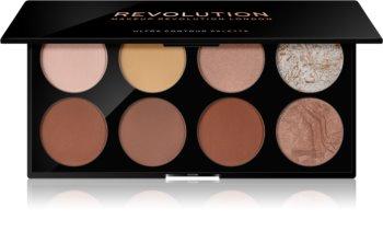 Makeup Revolution Ultra Contour palete de cores para contorno de rosto