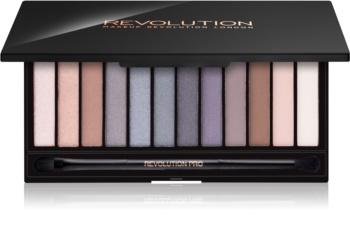 Makeup Revolution Iconic Smokey paleta senčil za oči z ogledalom in aplikatorjem