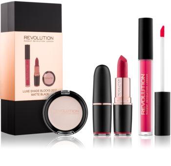 Makeup Revolution Luxe Shade Blocks kosmetická sada I. pro ženy