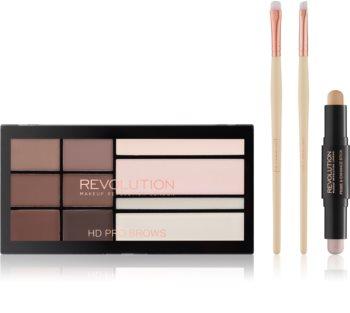 Makeup Revolution Pro HD Brows косметичний набір I.