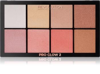 Makeup Revolution Pro Glow 2 palette d'enlumineurs