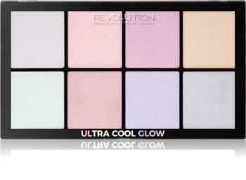 Makeup Revolution Ultra Cool Glow paleta osvetljevalcev
