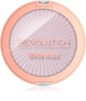 Makeup Revolution Skin Kiss rozjasňovač na oči a tvár