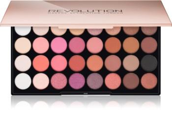 Makeup Revolution Flawless 4 paleta očných tieňov