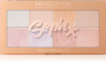 Makeup Revolution Soph X paleta de iluminadores