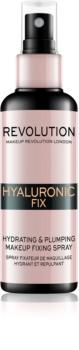 Makeup Revolution Hyaluronic Fix fixační sprej na make-up s hydratačním účinkem