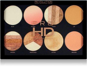 Makeup Revolution Pro HD Brighter Than My Future paleta de iluminadores