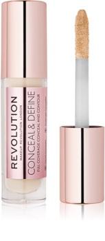 Makeup Revolution Conceal & Define tekoči korektor