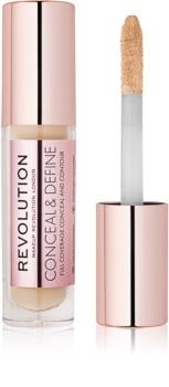 Makeup Revolution Conceal & Define corretor líquido