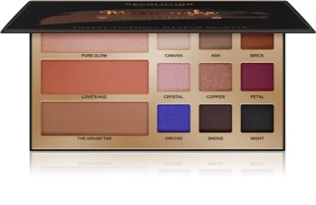 Makeup Revolution Maxineczka Beauty Legacy Multifunctional Face Palette for Face and Eyes