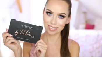 Makeup Revolution by Petra palette de fards à paupières