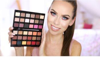 Makeup Revolution by Petra paleta cieni do powiek
