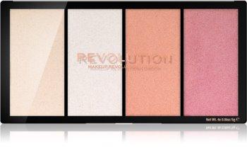 Makeup Revolution Reloaded paleta de iluminadores