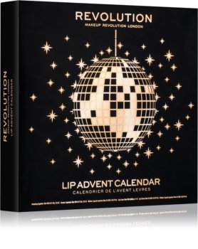 Calendario Avvento Makeup.Makeup Revolution Lip Advent Calendarcalendario Dell Avvento