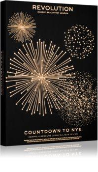 Makeup Revolution Countdown to NYE kalendár odpočítavania do Nového roka