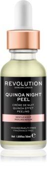 Makeup Revolution Skincare Quinoa Night Peel jemné nočné peelingové sérum