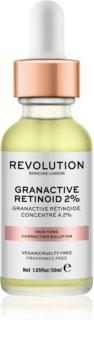 Makeup Revolution Skincare Granactive Retinoid 2% sérum pre korekciu tónu pleti