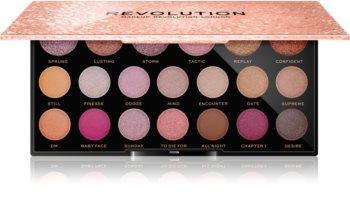 Makeup Revolution Jewel Collection paletka očných tieňov