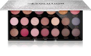 Makeup Revolution Jewel Collection палитра сенки за очи