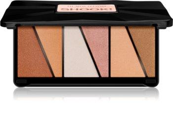 Makeup Revolution Shook! palette d'enlumineurs