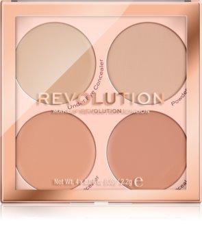 Makeup Revolution Matte Base Concealer Palette