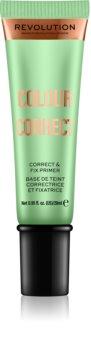 Makeup Revolution Colour Correct primer para base