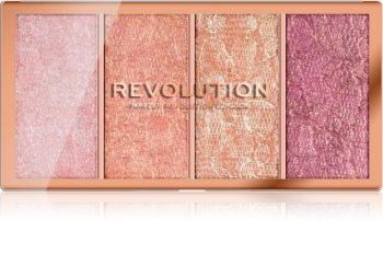 Makeup Revolution Vintage Lace paleta de coloretes