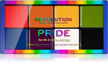 Makeup Revolution Pride multifunkční líčidlo na rty a tváře