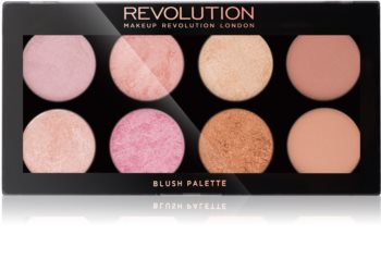 Makeup Revolution Golden Sugar 2 Rose Gold paleta de coloretes
