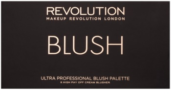 Makeup Revolution Ultra Blush All About Cream paleta tvářenek