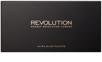 Makeup Revolution Ultra Blush All About Pink paleta fard de obraz
