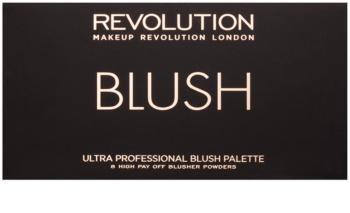 Makeup Revolution Ultra Blush All About Pink paleta líceniek