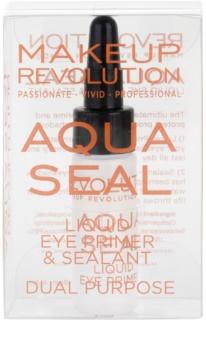 Makeup Revolution Aqua Seal fixátor očních stínů a podkladová báze 2 v 1