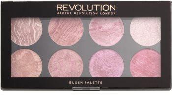 Makeup Revolution Blush arcpirosító paletta