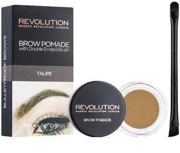 Makeup Revolution Brow Pomade pomáda na obočí
