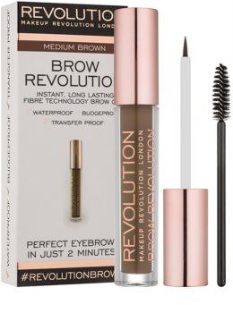 Makeup Revolution Brow Revolution fiksacijski gel za obrvi