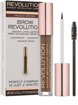 Makeup Revolution Brow Revolution gel fixant sourcils