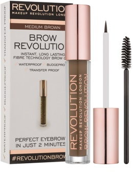 Makeup Revolution Brow Revolution Setting Gel for Eyebrows