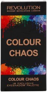 Makeup Revolution Colour Chaos paleta očních stínů