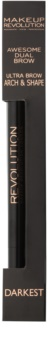Makeup Revolution Ultra Brow Arch & Shape szemöldök ceruza 2 az 1-ben