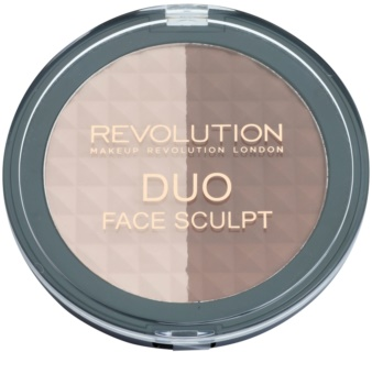 Makeup Revolution Duo autobronzant și iluminator 2 in 1