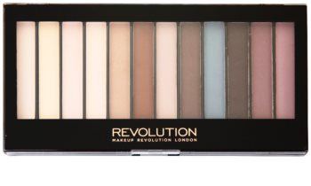 Makeup Revolution Essential Mattes paleta farduri de ochi