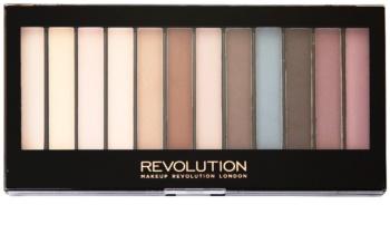Makeup Revolution Essential Mattes paleta senčil za oči
