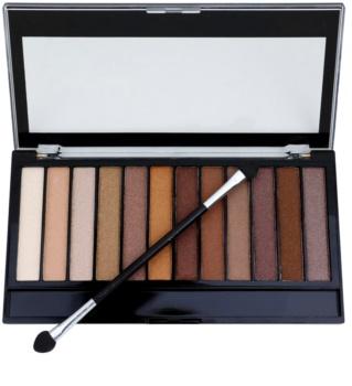 Makeup Revolution Essential Shimmers палітра тіней
