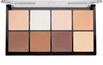 Makeup Revolution Ultra Pro HD Fair palette contour de visage poudreux