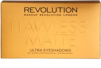Makeup Revolution Flawless Matte paleta cieni do powiek