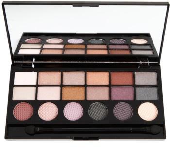 Makeup Revolution Girls On Film paleta očních stínů