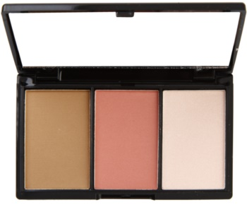 Makeup Revolution I ♥ Makeup I Heart Definition paleta pentru contur facial