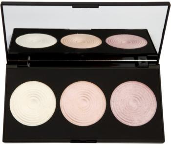 Makeup Revolution Highlight paleta rozjasňujúcich púdrov